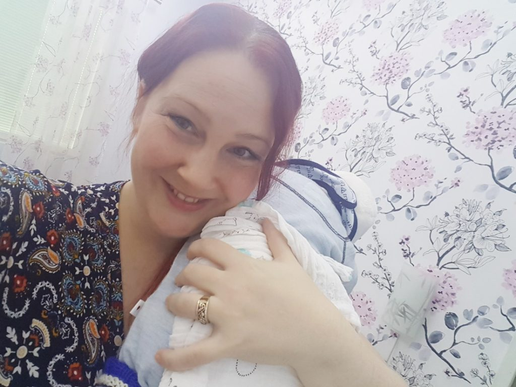 päivä vauva-arjesta