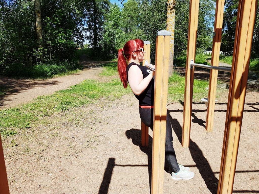 vartin puistotreeni